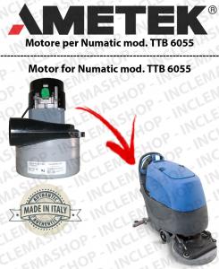 TTB 6055  MOTORE LAMB AMETEK di aspirazione per lavapavimenti NUMATIC
