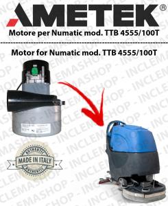 TTB 4555/100T  MOTORE LAMB AMETEK di aspirazione per lavapavimenti NUMATIC