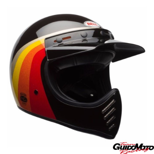 Casco cross BELL MOTO-3 Chem Candy Black Gold Tg. M