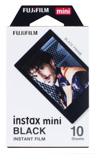 Instax Mini Pellicola Istantanea Black, 10 scatti