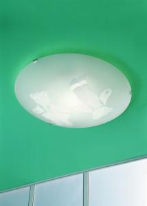 Plafoniera bambini WINNY orsetto cm40 E27 LED