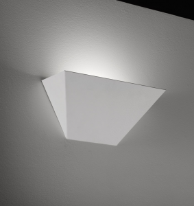 Applique parete HUGO cm35 bianco  LED   10watt