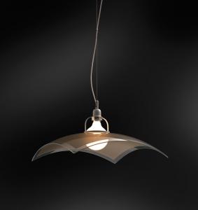 Lampadario cucina SAMBA 40 LED marrone