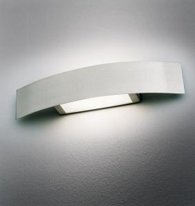 Applique COVER 76 LED acciaio spazzolato