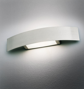 Applique COVER 100 LED acciaio spazzolato
