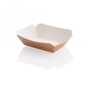 Vaschetta per fritti in cartoncino kraft - piccola