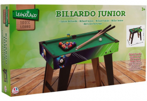 BILIARDO C/GAMBE/2 STECCHE/PALLINE 70X63X37CM 37359 GLOBO