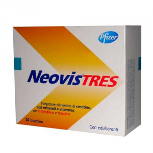 NEOVIS TRES INTEGRATORE ENERGETICO 20 BUSTINE