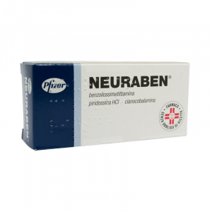 NEURABEN 30 CAPSULE 100 MG - FARMACO A BASE DI VITAMINA B1, B6, B12
