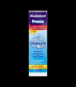 KUKIDENT FRESCO COMPLETE CREMA ADESIVA DENTIERE 47 G