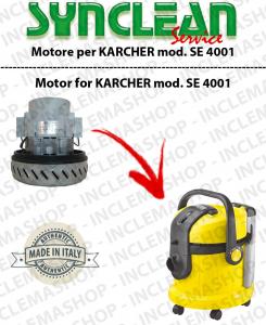 SE 4001 moteur aspiration SYNCLEAN  pour aspirateurs KARCHER