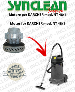 NT 48/1 Vacuum motor SYNCLEAN  for vacuum cleaner KARCHER
