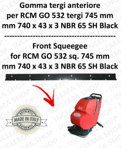 GO 532 Saug von 745 mm Vorne Sauglippen für Scheuersaugmaschinen RCM