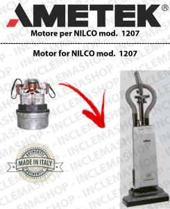 1207 AMETEK Vacuum motor for carpet sweeper NILCO