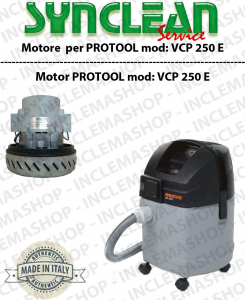 VCP 250 E Vacuum motor SYNCLEAN  for vacuum cleaner PROTOOL