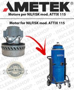 ATTIX 115 Ametek Vacuum Motor for vacuum cleaner NILFISK