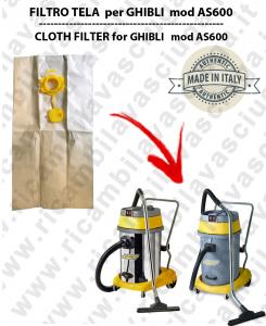 Papierfilter liter 19 mit stopper 10 Stücke für Staubsauger GHIBLI AS600