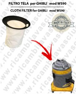 Filtre de toile pour aspirateurs GHIBLI modelle WS90