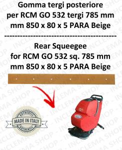 GO 532 suceur long 785 Bavette ARRIERE pour autolaveuses  RCM