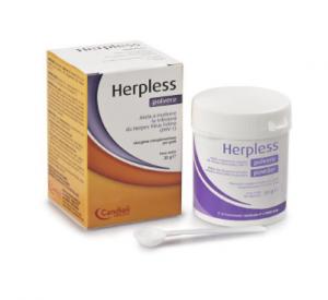 HERPLESS POLVERE MANGIME COMPLEMENTARE PER GATTI 240 G