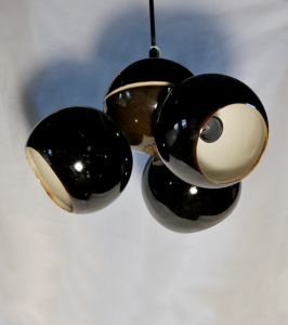 Lampadario in ceramica