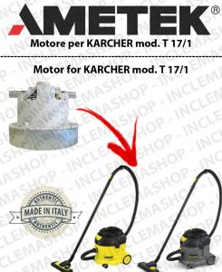 T 19/1  motor de aspiración Ametek para aspiradora KARCHER