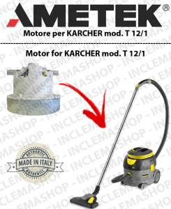 T 12/1 Saugmotor AMETEK für Staubsauger KARCHER
