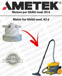 AS 6  motor de aspiración Ametek para aspiradora GHIBLI