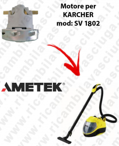 AMETEK Vacuum motor for vacuum cleaner KARCHER SV 1802