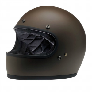 BILTWELL GRINGO CHOCOLATE Casco Integrale - Marrone