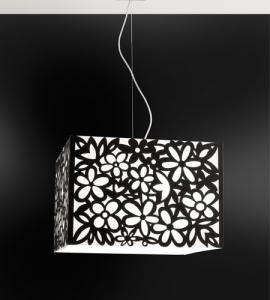 Lampadario MELANTHA BIANCO 50x50 E27 | LED-2