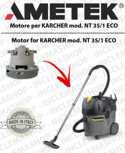 NT 35/1 ECO Automatic Saugmotor AMETEK für Staubsauger KARCHER