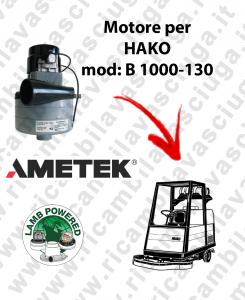 B 1000-130 Lamb Ametek vacuum motor di aspirazione for scrubber dryer HAKO