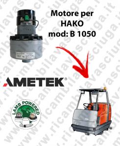 B 1050 Lamb Ametek vacuum motor di aspirazione for scrubber dryer HAKO