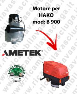 B 900 Lamb Ametek vacuum motor di aspirazione for scrubber dryer HAKO