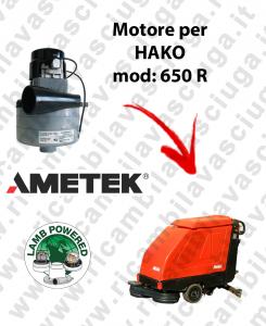 B 650 R Moteurs aspiration LAMB AMETEK pour autolaveuses HAKO