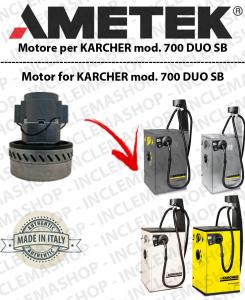 700 DUO SB moteur aspiration AMETEK pour aspirateur KARCHER