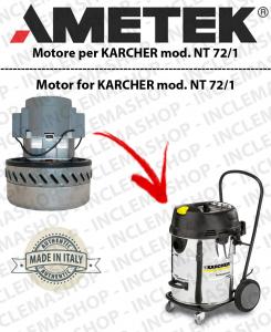 NT 72/1 Saugmotor AMETEK für Staubsauger KARCHER