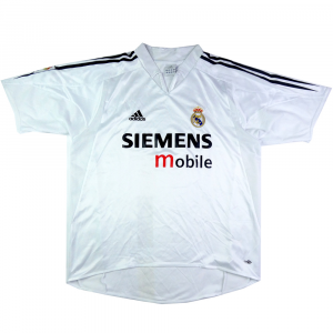2004-05 Real Madrid Maglia Home L (Top)