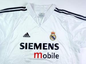 2004-05 Real Madrid Maglia Home L (Top)
