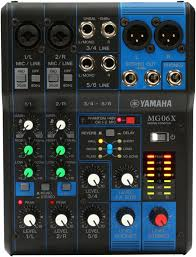 MG06X YAMAHA MIXER ANALOG.FX