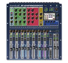 SI EXPRESSION1 MIXER DIGITALE 16CH SOUNDGRAPH