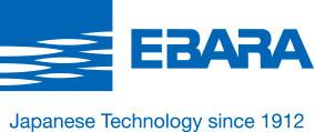 Ebara CDA 1.5 HP Elettropompe centrifughe bigirante in ghisa