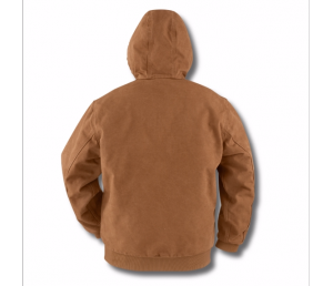 Carhartt Workwear Quilt Flanell Lined Sandstone Active Giacca