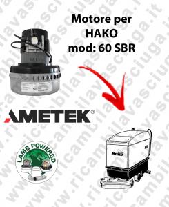 SBR 60 MOTORE LAMB AMETEK di aspirazione para fregadora HAKO