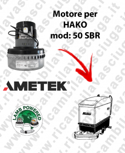 SBR 50 MOTORE LAMB AMETEK di aspirazione para fregadora HAKO