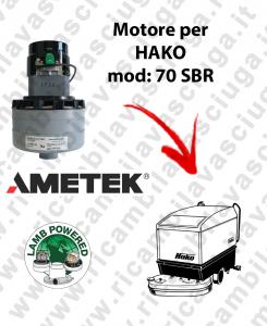 SBR 70 Lamb Ametek vacuum motor di aspirazione for scrubber dryer HAKO