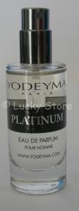 Yodeyma PLATINUM Eau de Parfum 15ml mini Profumo Uomo no tappo no scatola