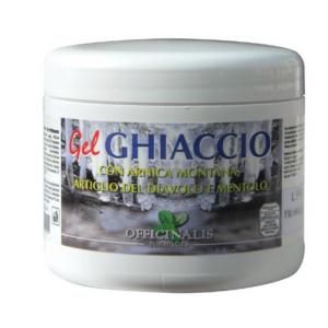 GEL GHIACCIO CON ARNICA, MENTOLO, ARTIGLIO DEL DIAVOLO 500 G