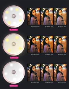 SELFIE SPOTLIGHT Universale per smartphone tablet e laptop